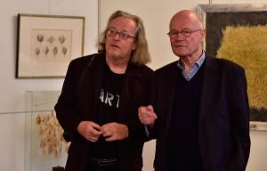 Ruprecht Frieling im Gespräch mit Berend Wellmann ©Foto: Clemens Cording